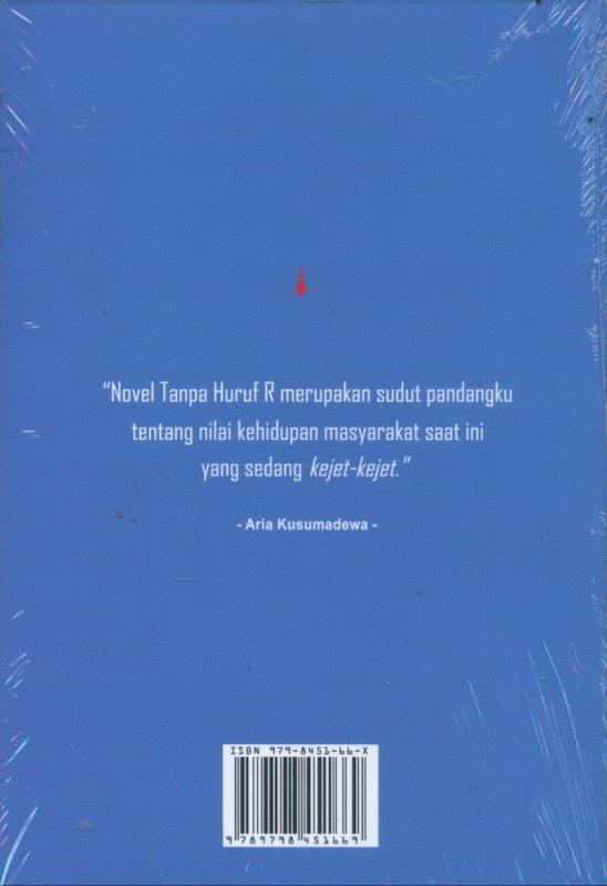 Cover Belakang Buku Di Balik Novel Tanpa Huruf R