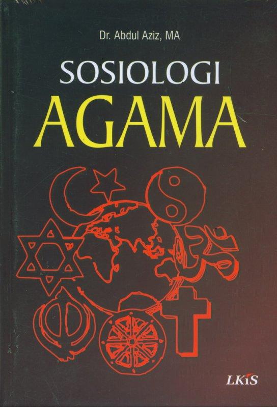 Cover Buku Sosiologi Agama