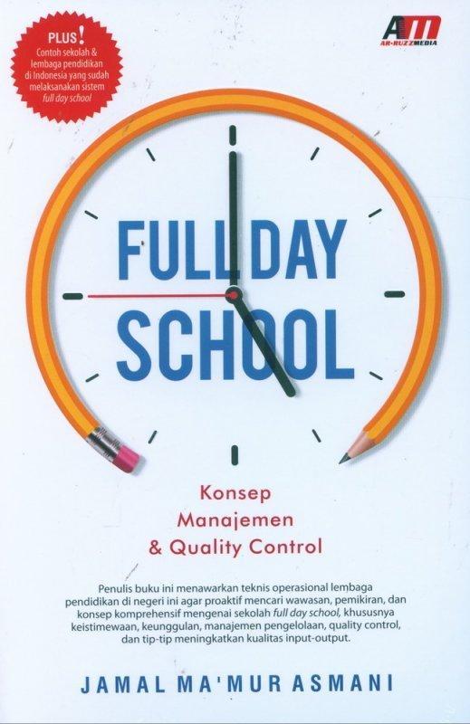 Cover Buku Full Day School - Konsep Manajemen & Quality Control
