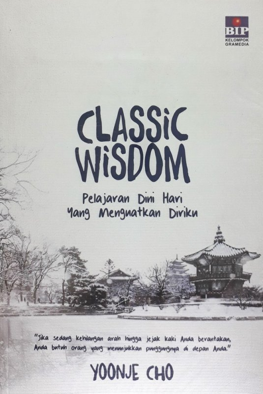 Cover Buku Classic Wisdom