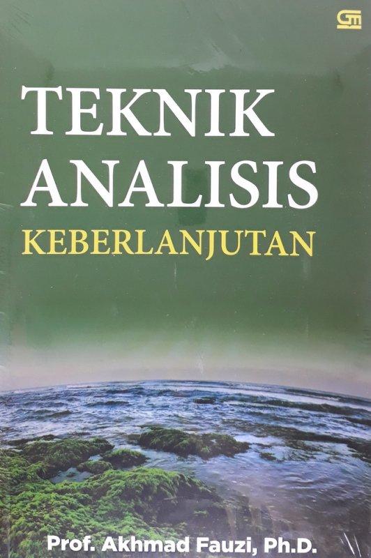 Cover Buku Teknik Analisis Keberlanjutan