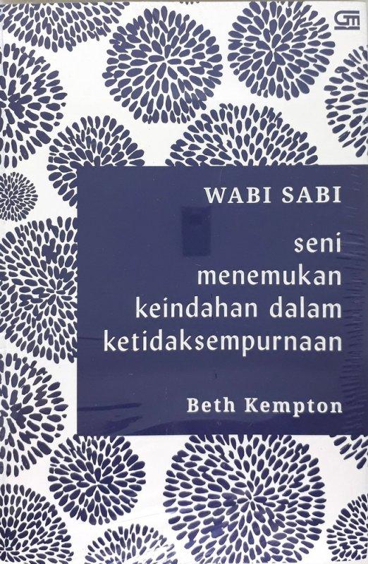 Cover Buku Wabi Sabi: Menemukan Keindahan dalam Ketidaksempurnaan