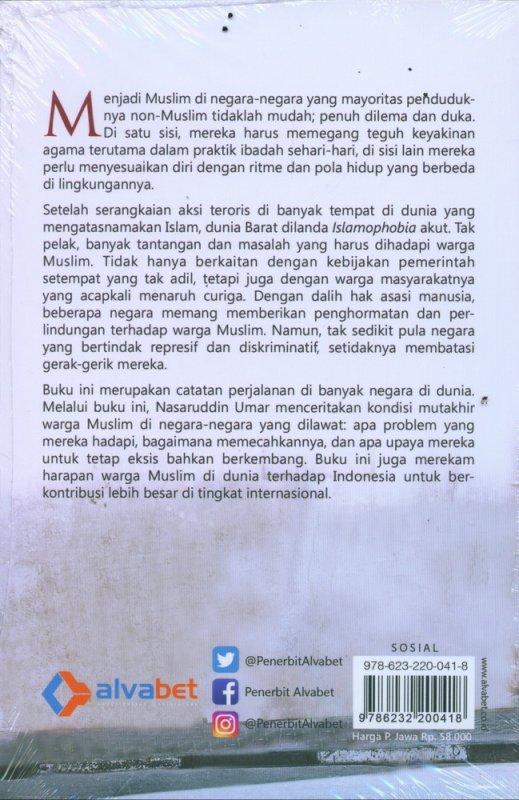 Cover Belakang Buku Geliat Islam di Negeri Non Muslim