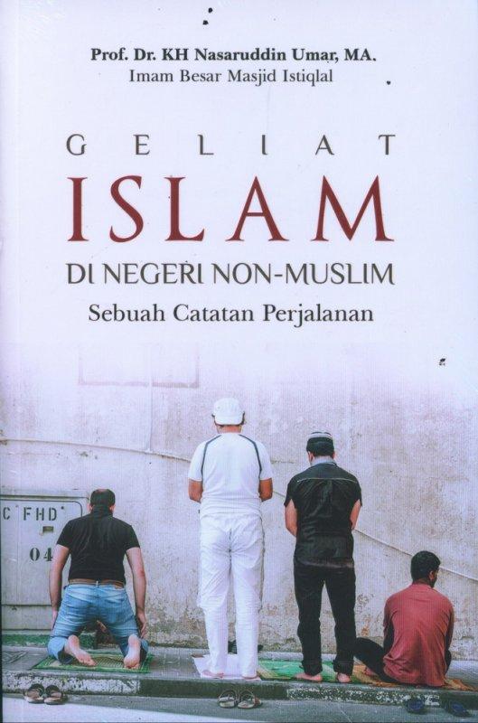 Cover Buku Geliat Islam di Negeri Non Muslim