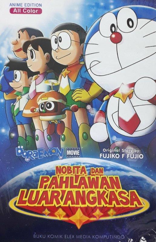 Cover Buku Doraemon Movie: Nobita dan Pahlawan Luar Angkasa