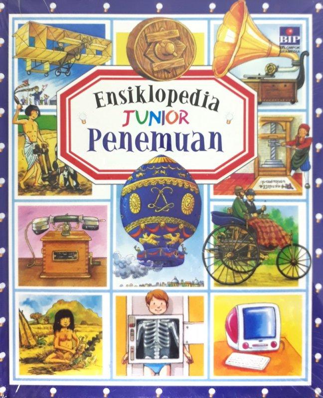 Cover Buku Ensiklopedia Junior : Penemuan (Hard Cover)