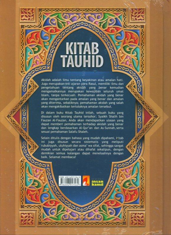 Cover Belakang Buku KITAB TAUHID (Hard Cover)