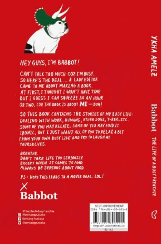 Cover Babbot: The Life of A Busy Frenchie