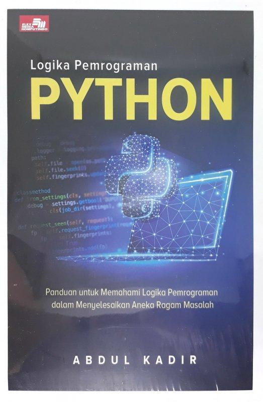 Cover Buku Logika Pemrograman Python