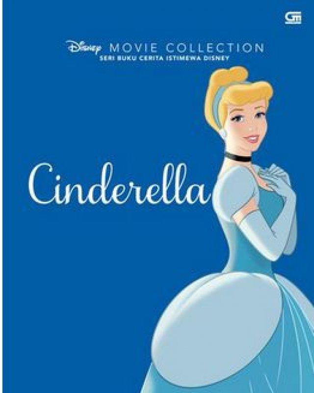 Cover Buku Disney Movie Collection: Cinderella