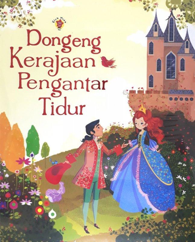 Cover Buku Dongeng Kerajaan Pengantar Tidur
