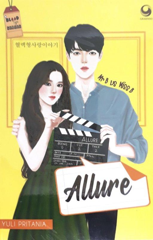 Cover Buku Allure : Mr. B vs Miss. B