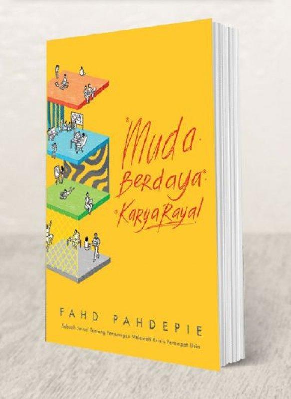 Cover Buku Muda Berdaya Karya Raya