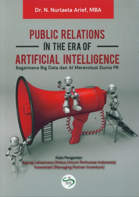 Cover Buku Public Relations In The Era of Artificial Intelligence