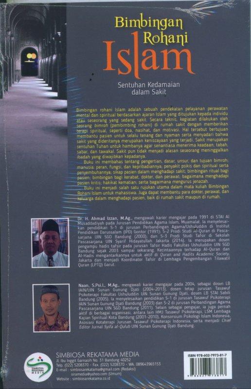 Cover Belakang Buku Bimbingan Rohani Islam