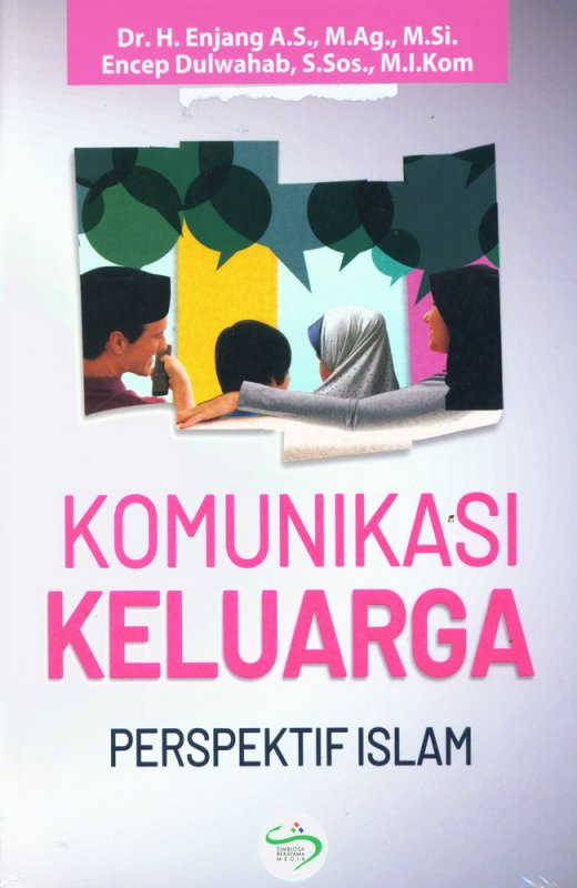 Cover Buku Komunikasi Keluarga: Perspektif Islam