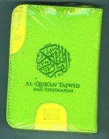 AL-MUGHNI: Quran Tajwid Pelangi Dompet Resleting Kecil