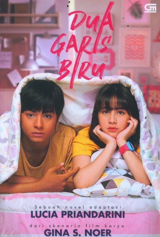 Cover Buku Dua Garis Biru