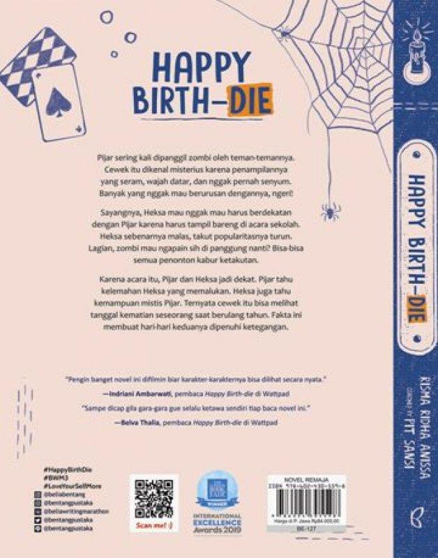 Cover Belakang Buku Happy Birth-die