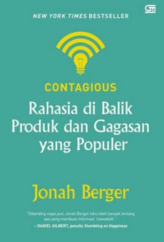 Cover Buku Contagious: Rahasia Di Balik Produk Dan Gagasan Yang Populer