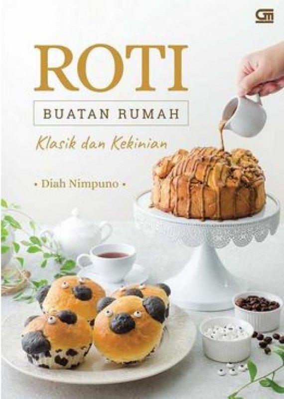Cover Buku Roti Buatan Rumah Klasik dan Kekinian