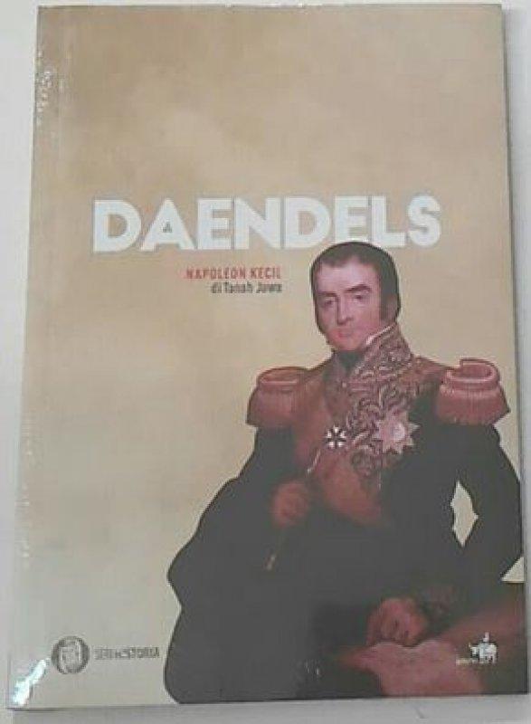 Cover Buku Daendels Napoleon Kecil di Tanah Jawa