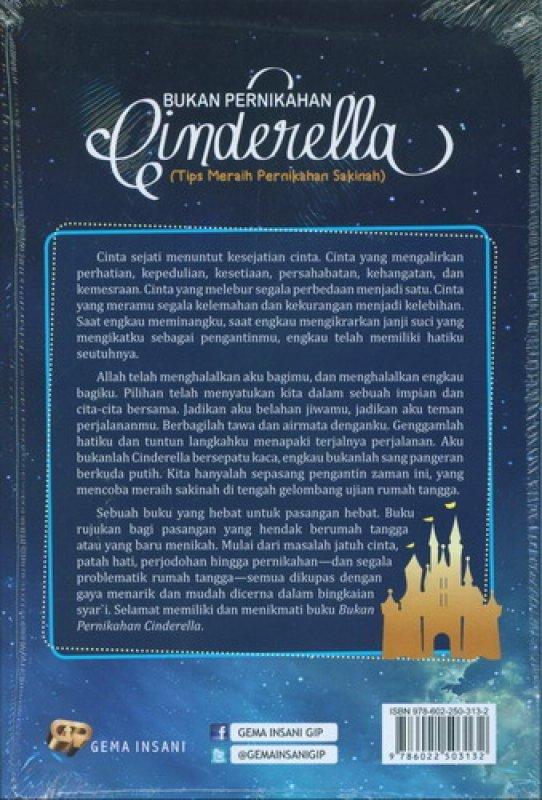 Cover Belakang Buku Bukan Pernikahan Cinderella Edisi Baru