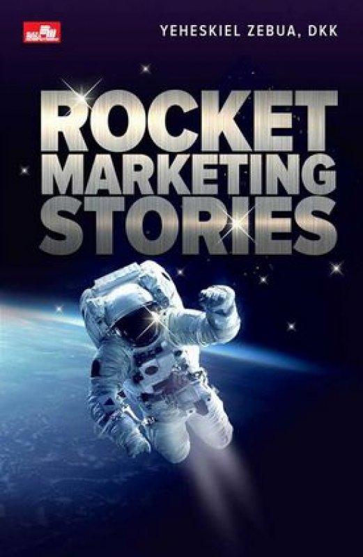 Cover Buku Rocket Marketing Stories (Promo gedebuk)