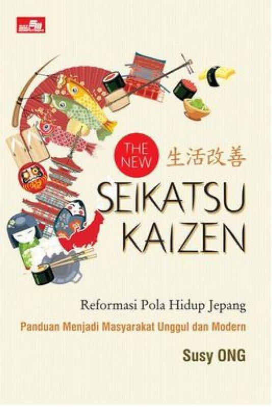 Cover Buku The New Seikatsu Kaizen