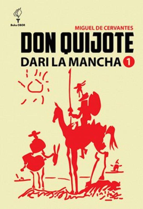 Cover Buku Don quijote dari la Mancha Jilid 1