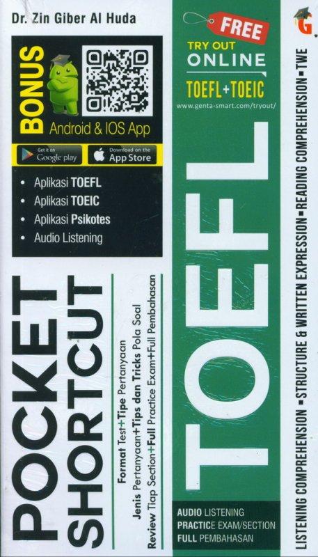Cover Buku POCKET SHORTCUT TOEFL (COVER BARU 2019)