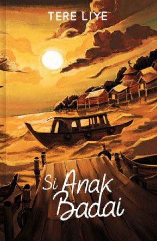 Cover Buku Si Anak Badai