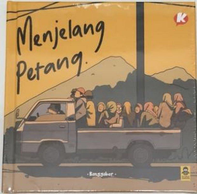Cover Buku Menjelang Petang (Hard Cover)