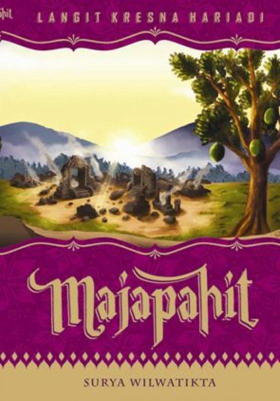 Cover Buku Majapahit: Surya Wilwatikta