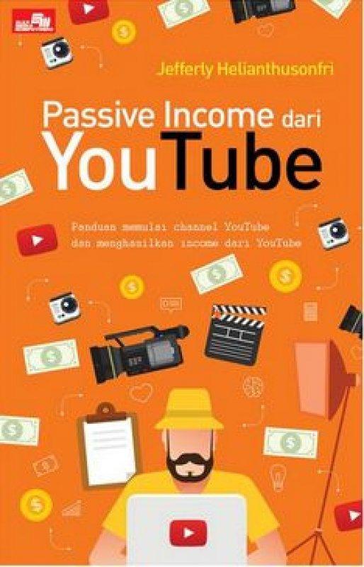 Cover Buku Passive Income dari YouTube
