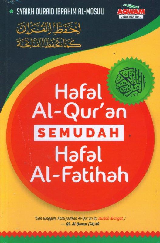 Cover Buku Hafal Al-Quran Semudah Hafal Al-Fatihah