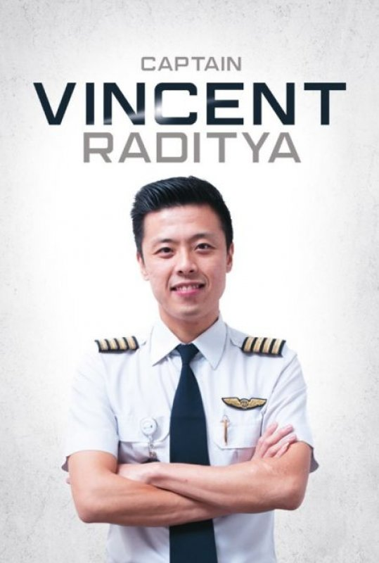 Cover Buku Captain Vincent Raditya