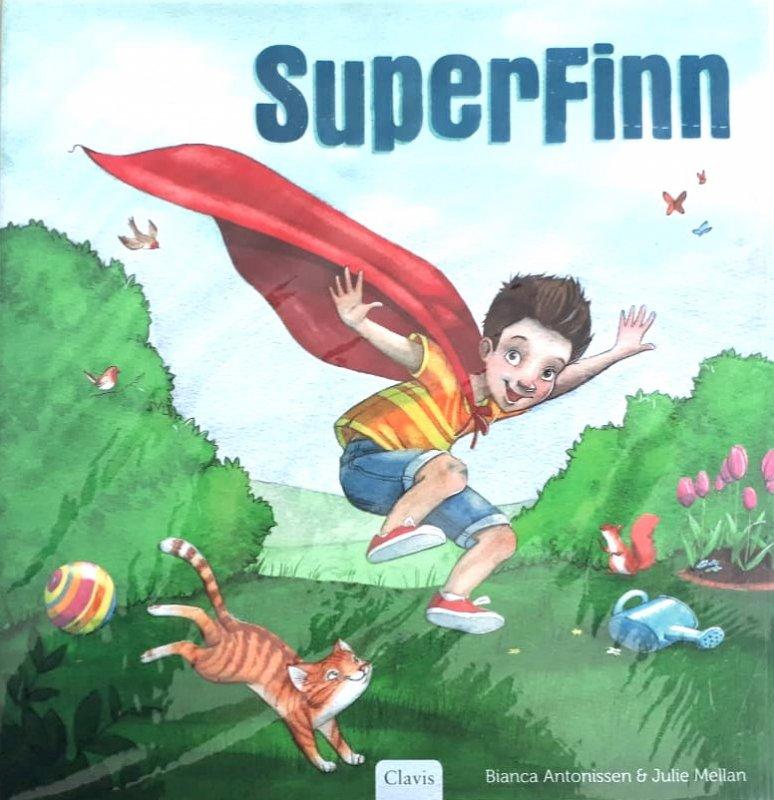 Cover Buku Superfinn - Full Color