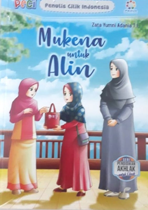Cover Buku Mukena untuk Alin (Seri Pendidikan Akhlak untuk Anak)