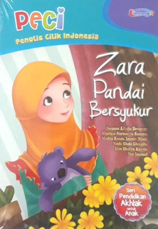 Cover Buku Zara Pandai Bersyukur (Seri Pendidikan Akhlak untuk Anak)