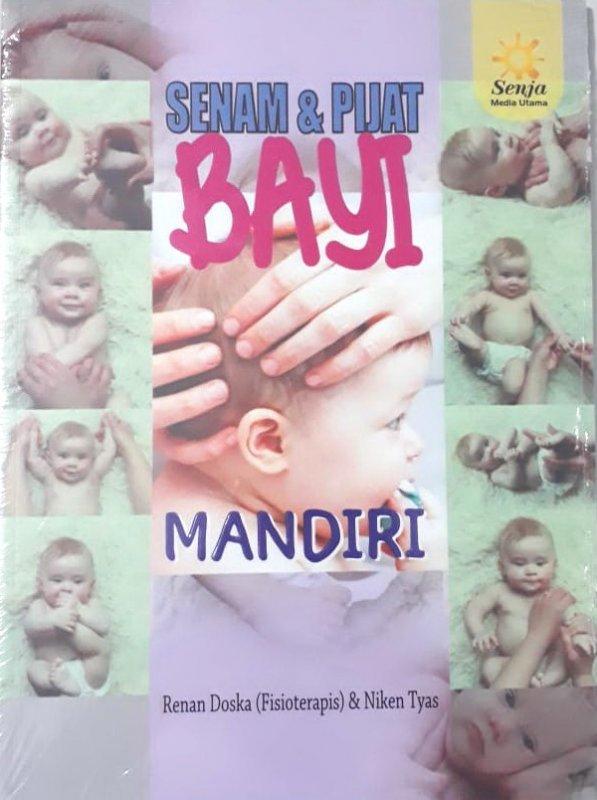 Cover Buku Senam dan Pijat Bayi Mandiri