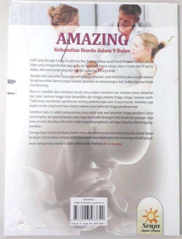 Cover Belakang Buku Amazing Kehamilan Bunda dalam 9 Bulan
