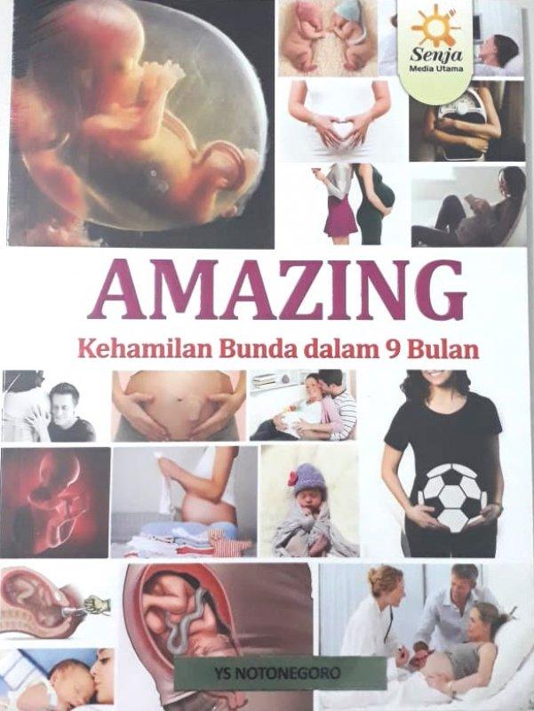 Cover Buku Amazing Kehamilan Bunda dalam 9 Bulan