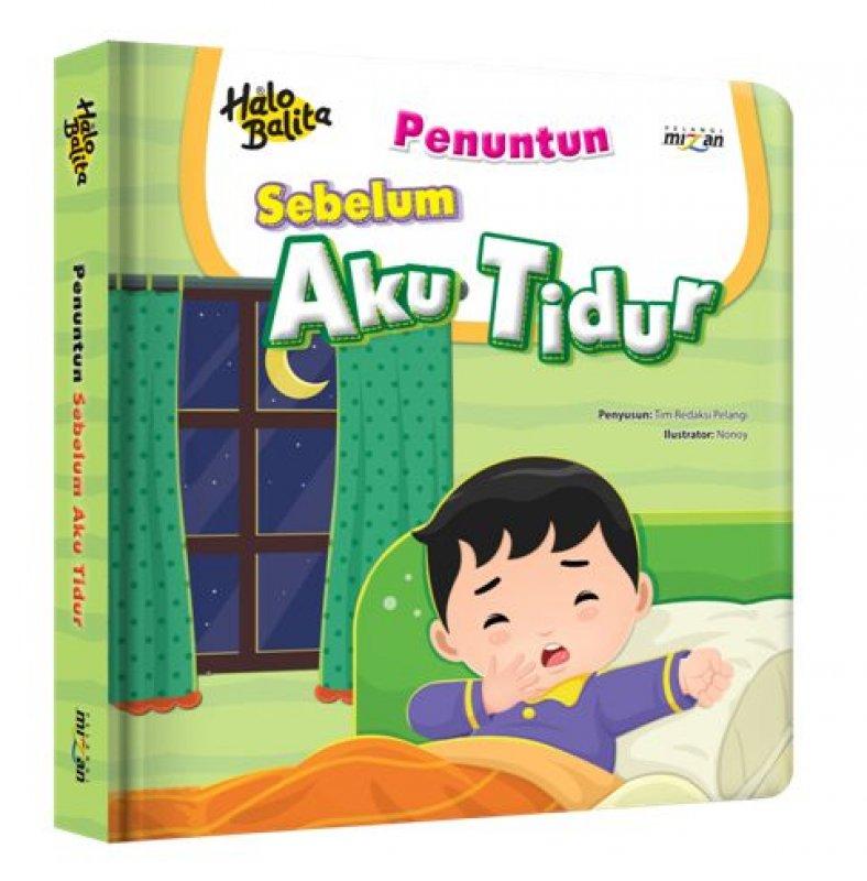 Cover Buku Halo Balita: Sebelum Aku Tidur (Boardbook)