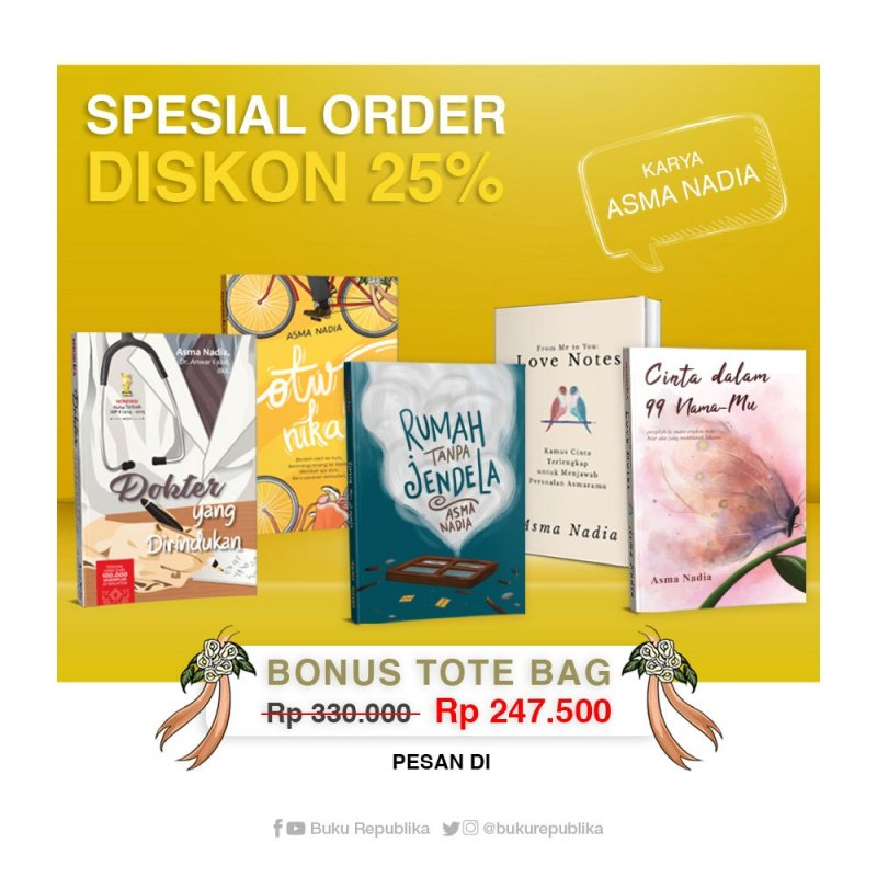 Cover Buku Special Order 5 Karya Asma Nadia