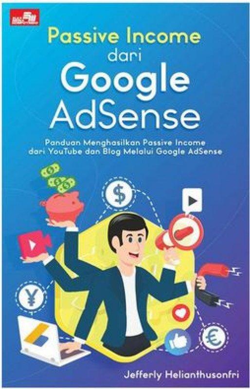 Cover Buku Passive Income dari Google AdSense
