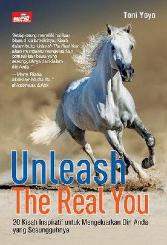 Cover Buku Unleash The Real You