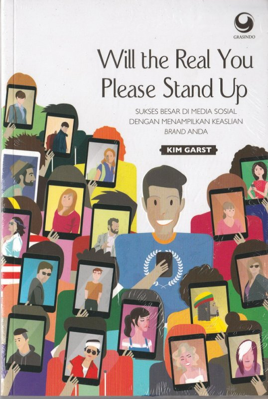 Cover Buku Will The Real You Please Stand Up
