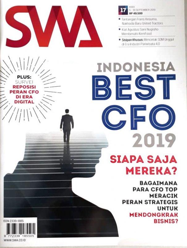 Cover Buku Majalah SWA Sembada No. 17   22 Agustus - 04 September 2019