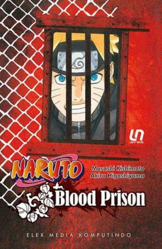 Cover Buku Light Novel Naruto: Blood Prison